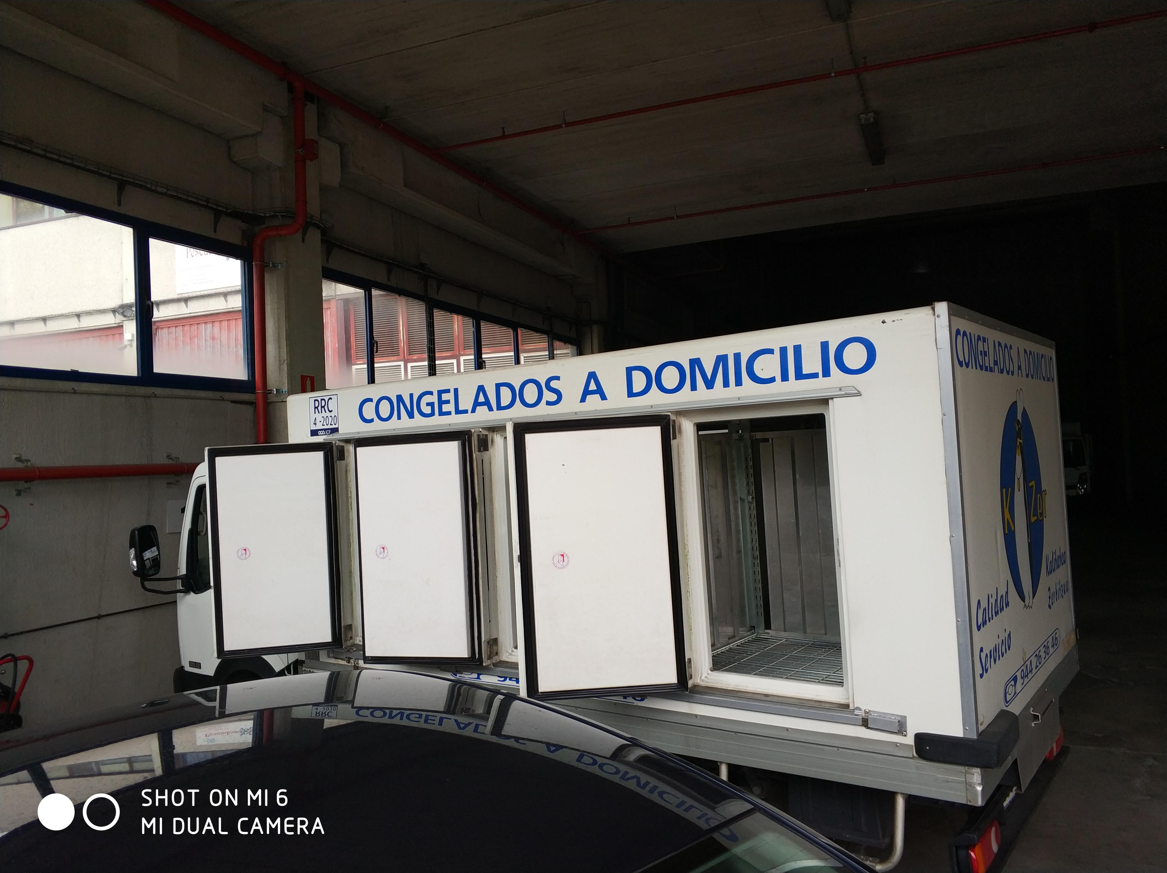 Modelo camion + furgon 1